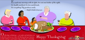 2013 Thanksgiving Day greeting
