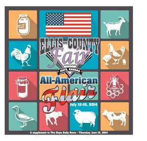 Ellis County Fair Tab 2014 cover