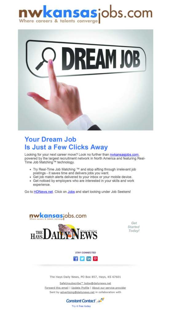 Find Your Dream Job Now